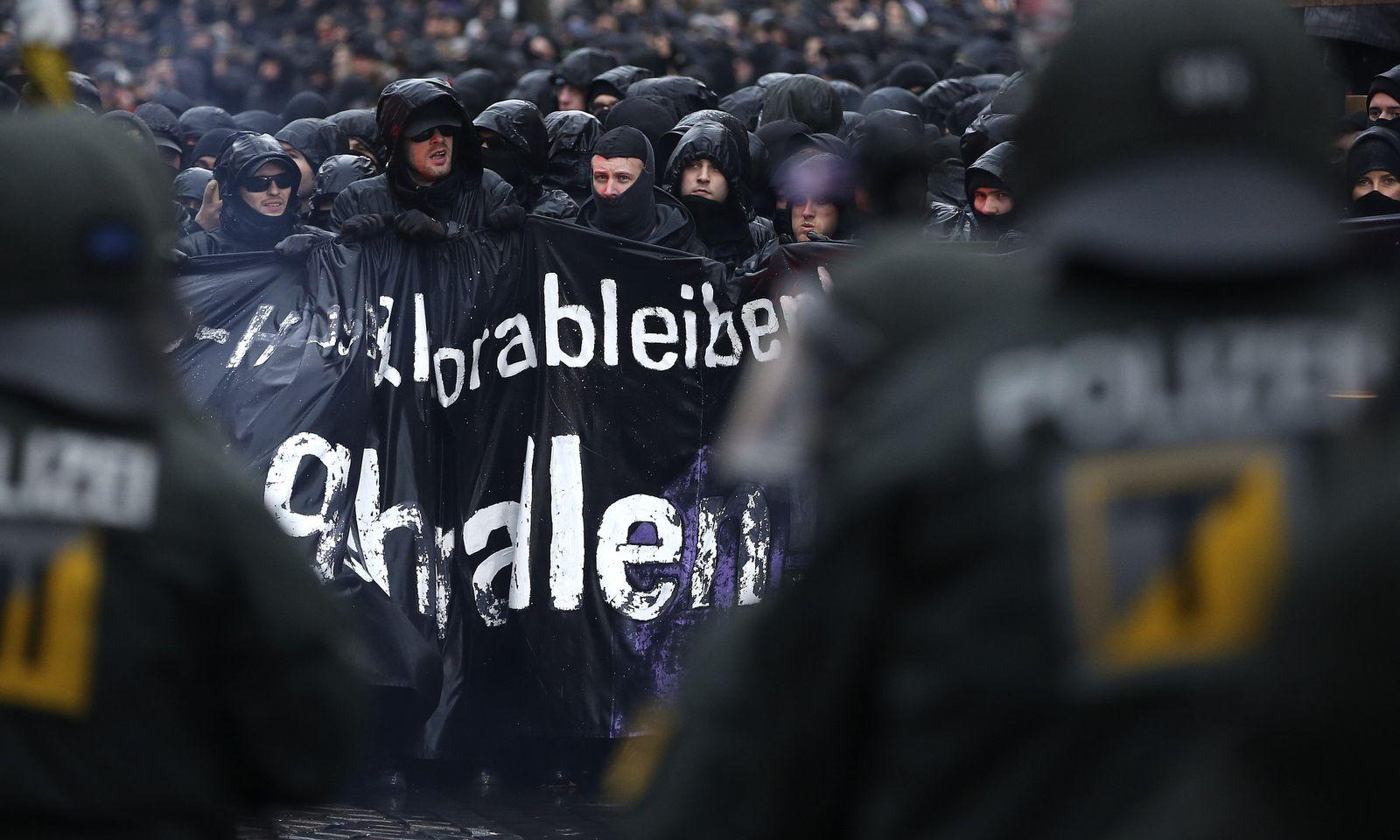 Demo / Schanze / Polizei