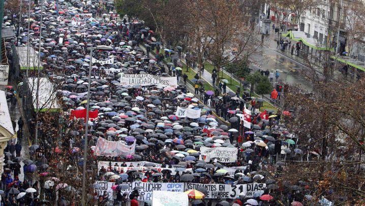 Proteste in Chile: Gute Bildung - und zwar umsonst!