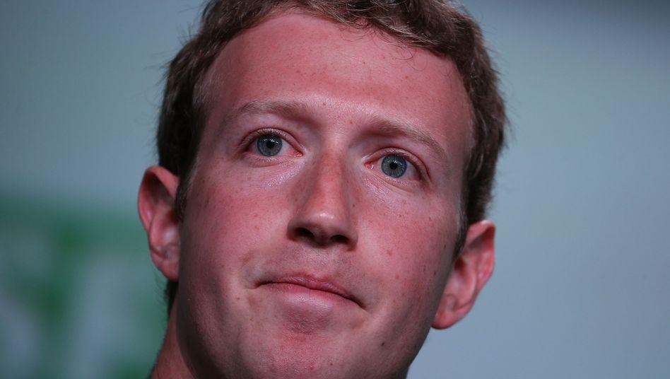 """Facebook-Chef Zuckerberg auf Tech-Konferenz: """"Das war echt übel"""""""