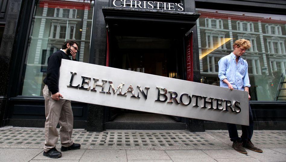 Lehman-Brothers-Logo: Signalwirkung für 50.000 Anleger in Deutschland