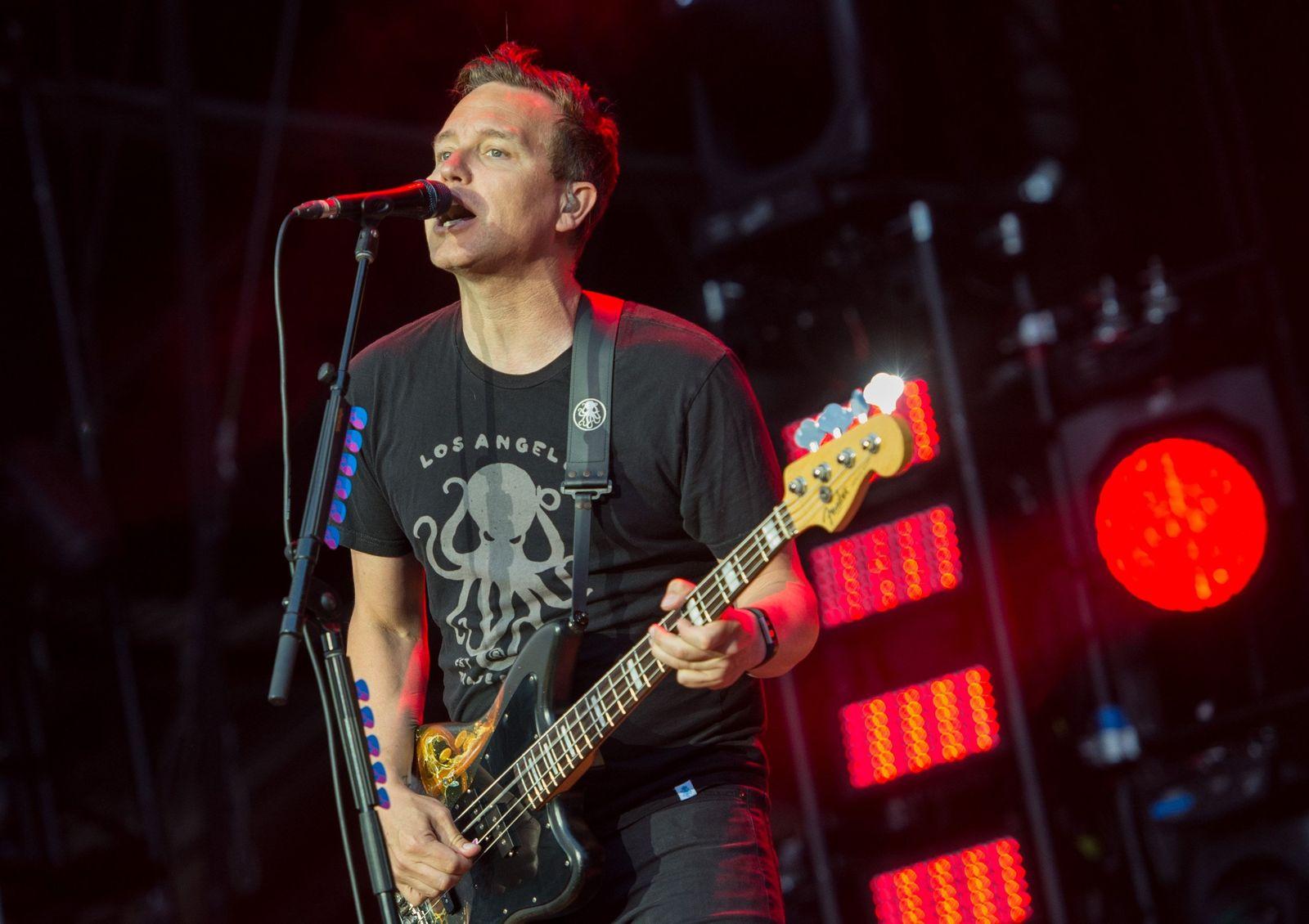 Blink-182: Mark Hoppus ist »krebsfrei« - DER SPIEGEL