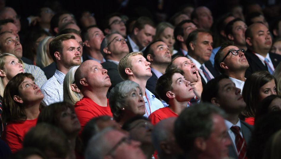 Anhänger der Republikaner während der TV-Debatte: Wenden sich die Frauen ab?