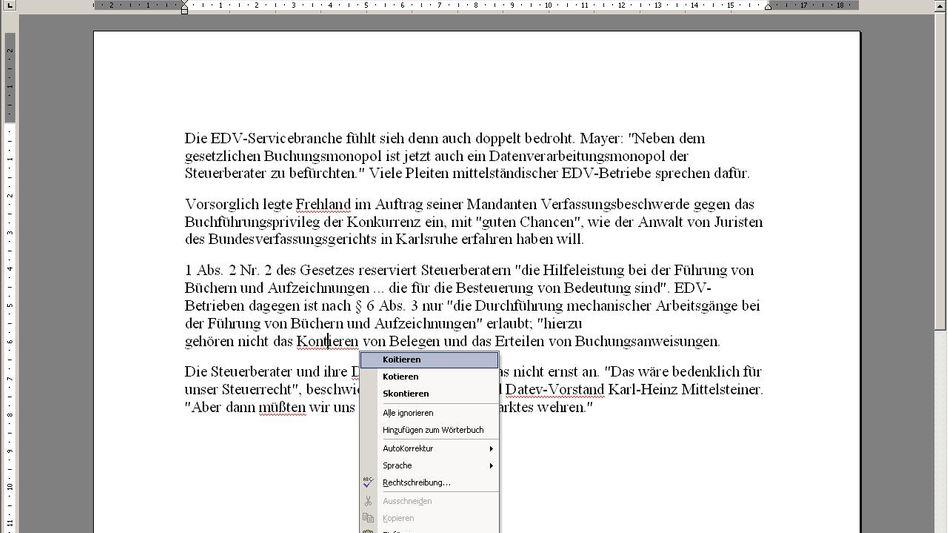 Microsoft Word: Sicherheitslücke gefährdet Rechner