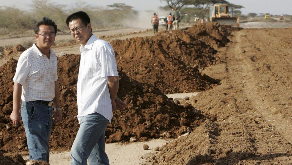 """Chinesische Baumanager in Kenia: """"Man kann nicht sagen, dass das schlecht ist"""""""