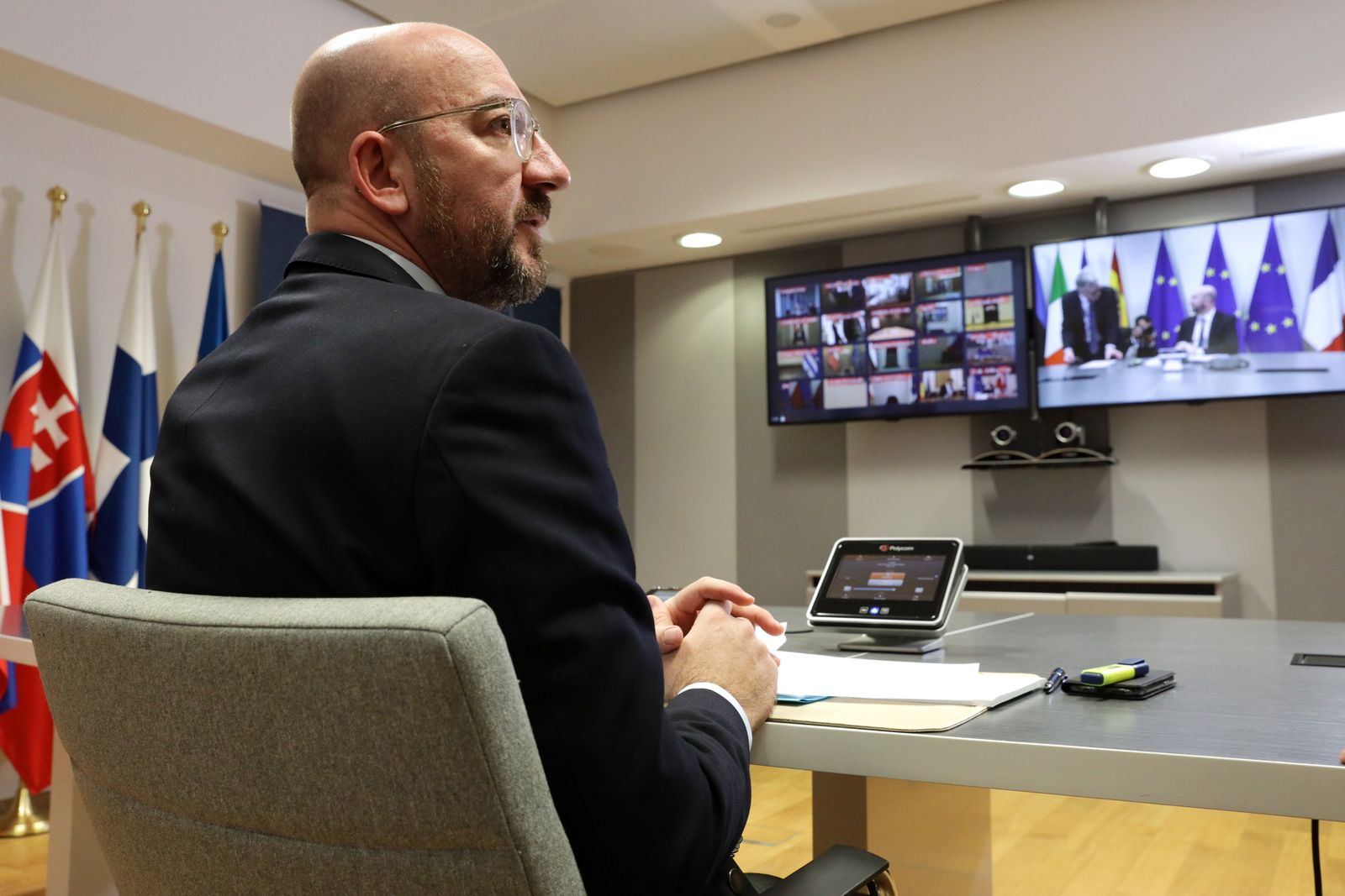 Videoschalten statt Gipfeltreffen: Diplomatie in Corona-Zeiten