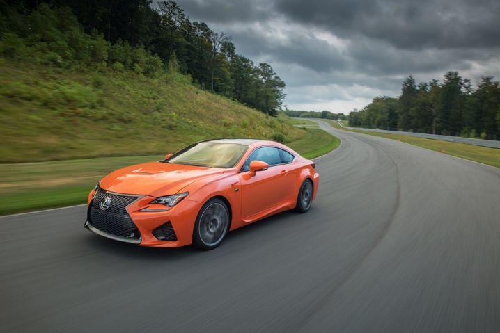 Beim Sportcoupé Lexus RC-F wagten die Japaner ein neues Design