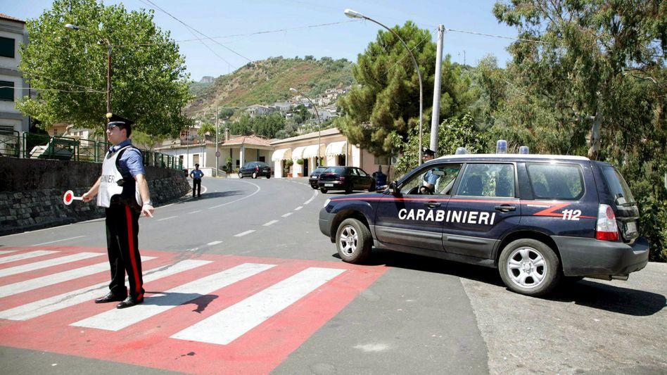 Anti-Mafia-Einsatz in Kalabrien (Archivbild)