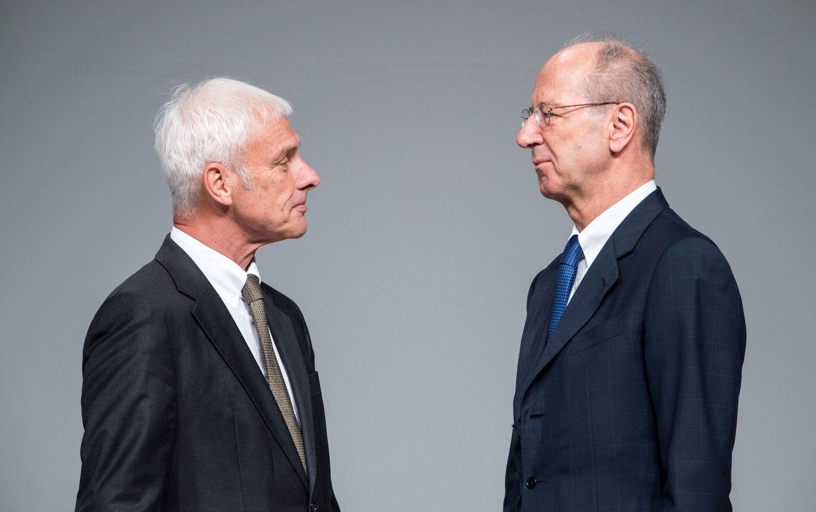 Ermittlungen gegen Pötsch und Müller in Stuttgart eingestellt