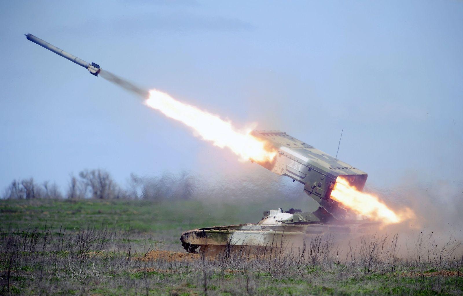 TOS-1/ Raketenwerfer