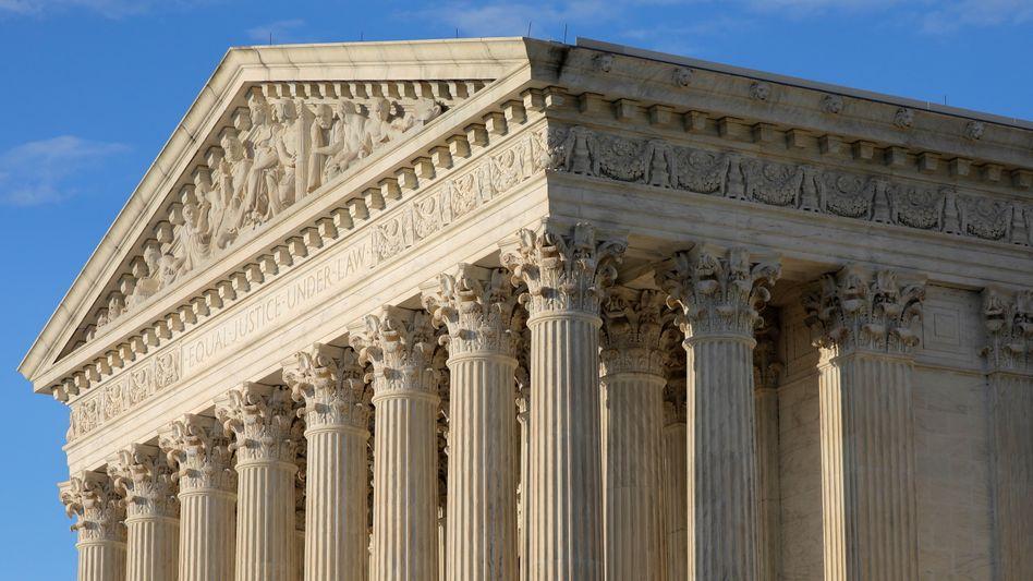 US-Supreme-Court in Washington: Am Obersten Gerichtshof sind konservative Richter in der Mehrheit