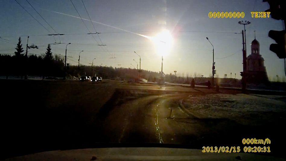 Explosion des Tscheljabinsk-Meteoriten: Kracher aus dem All