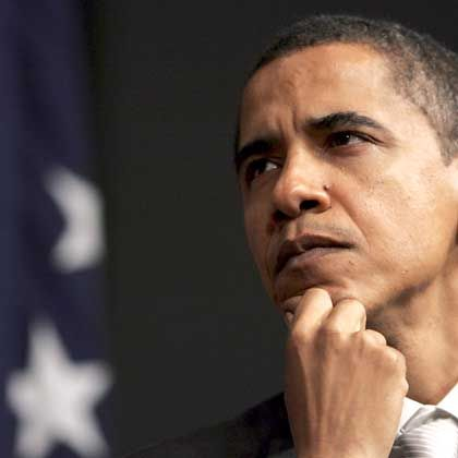 Erst Schmutzattacken ausgesetzt: Präsidenten-Kandidat Barack Obama