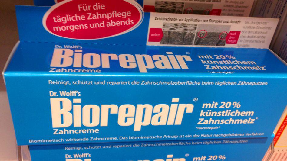 Zahncreme Biorepair: Schutzmantel für die Beißer?
