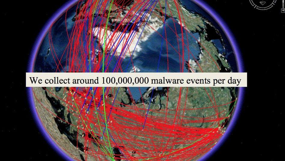 """GCHQ-Dokument: """"Wir sammeln 100.000.000 Malware-Ereignisse pro Tag"""""""