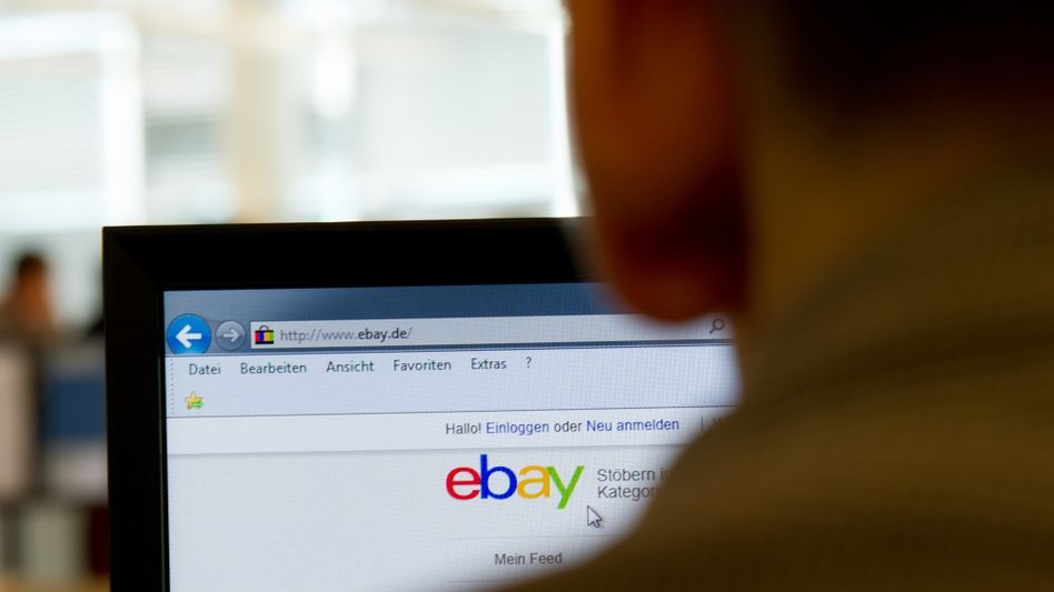 Ebay-Startseite (Archiv)