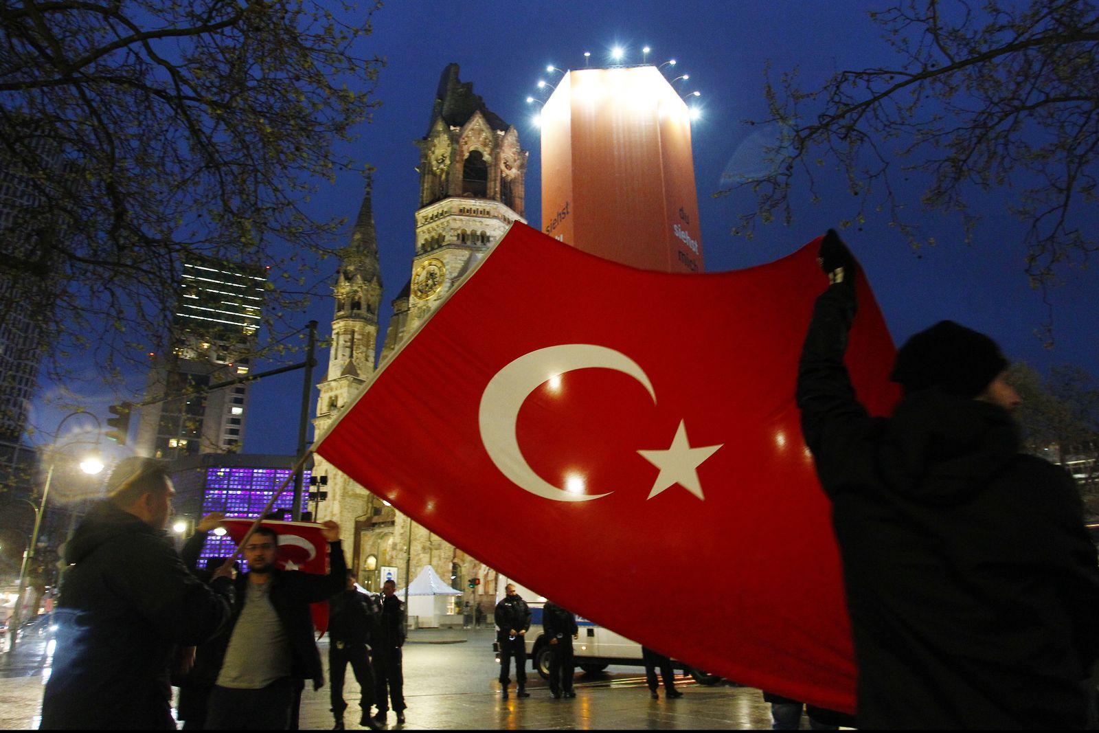 Referendum Türkei/ Berlin