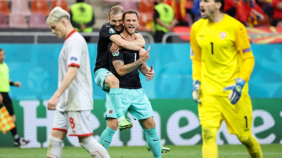 Marko Arnautović im Spiel gegen Nordmazedonien