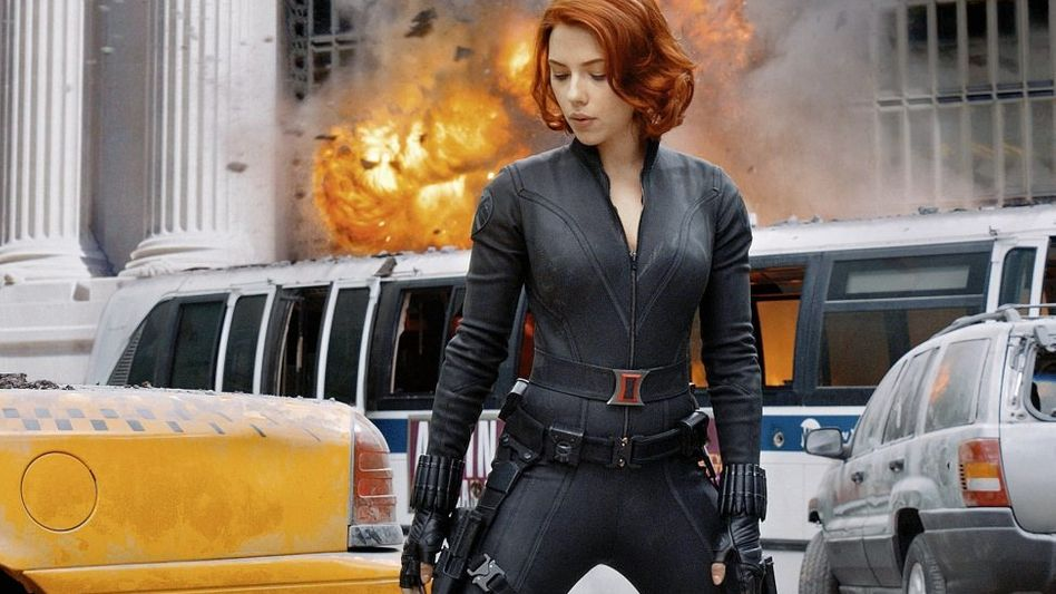 Szene aus »The Avengers«