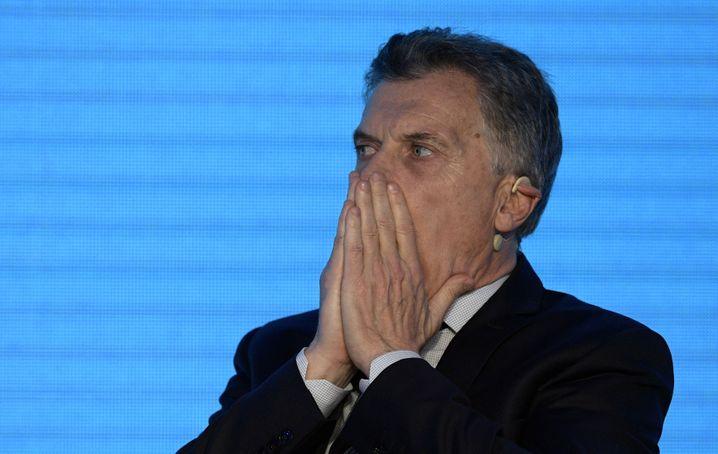 Präsident Mauricio Macri