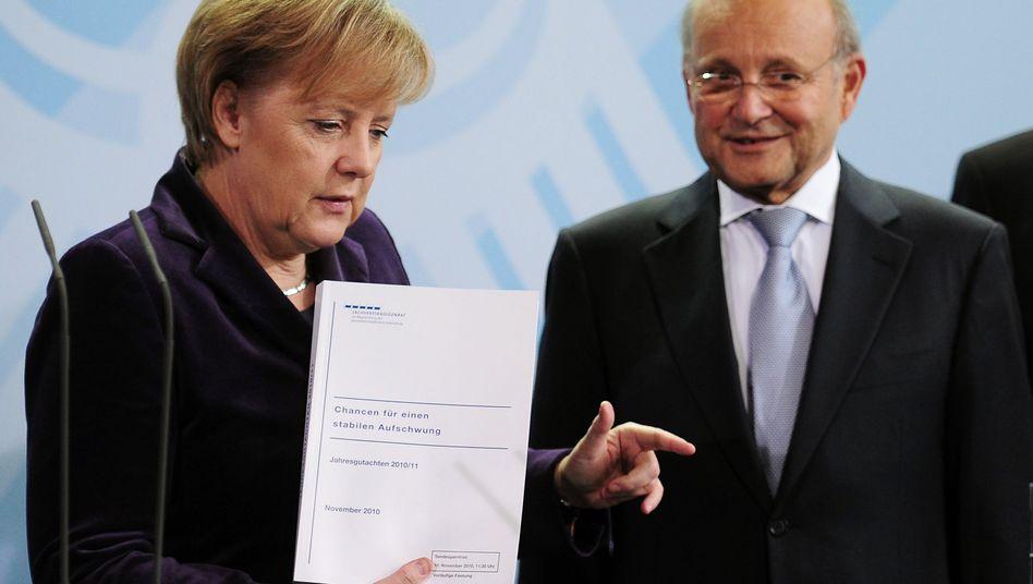 Trotz Aufschwung: Wirtschaftsweise werfen Merkel Tatenlosigkeit vor