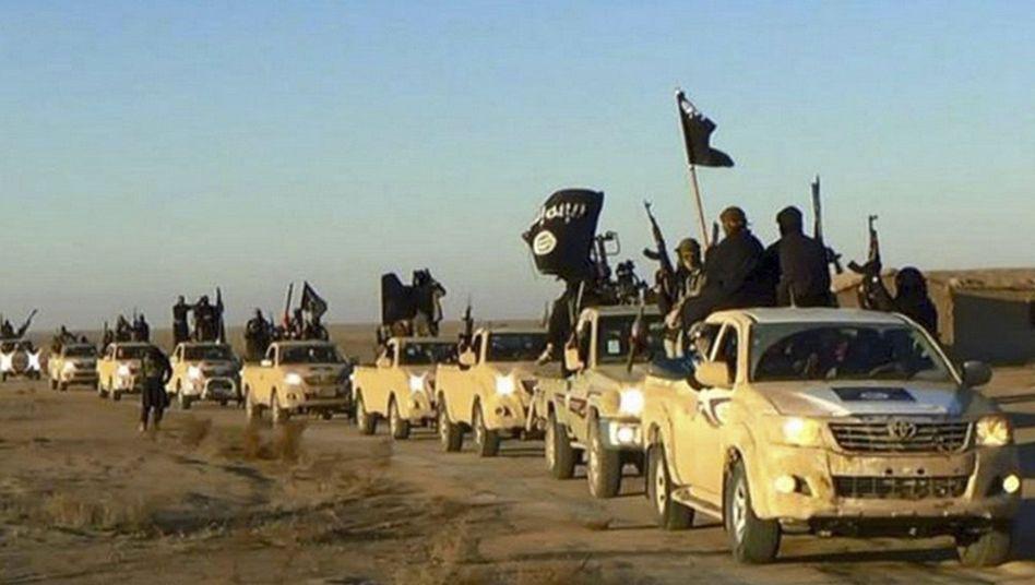 IS-Kämpfer bei Rakka (undatiertes Archivbild)