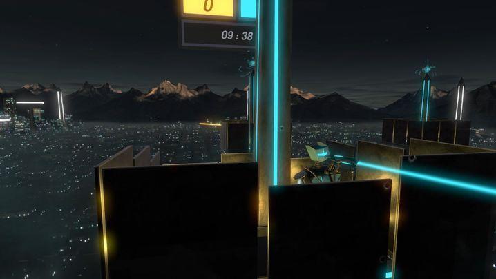 """Virtuelle Welt von """"Tower Tag"""""""