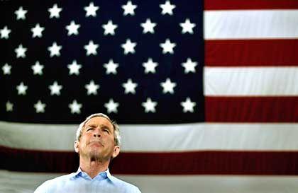 US-Präsident Bush: Hardcore als politisches Stilprinzip