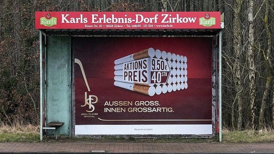 Tabakwerbung auf Rügen »Leider gibt es Widerstände«