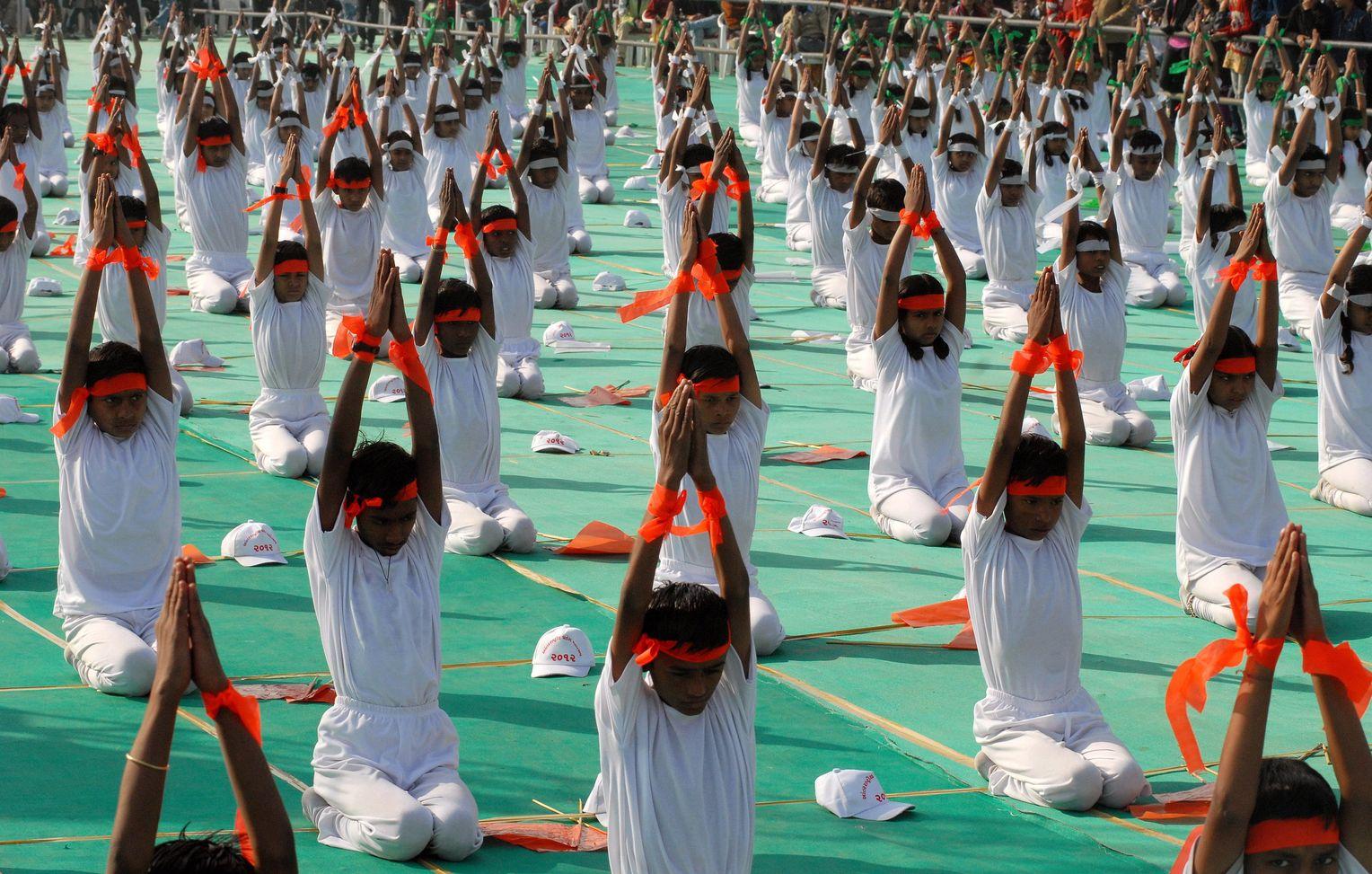Gefahrliches Yoga Korperkunst Mit Nebenwirkungen Der Spiegel