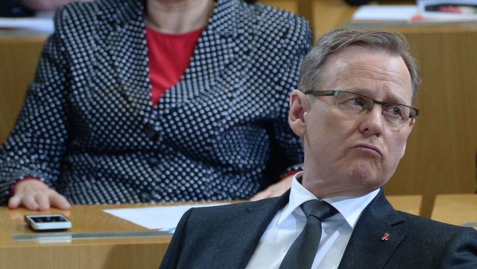 Kandidat Ramelow: Eine ungültige Stimme, eine Enthaltung