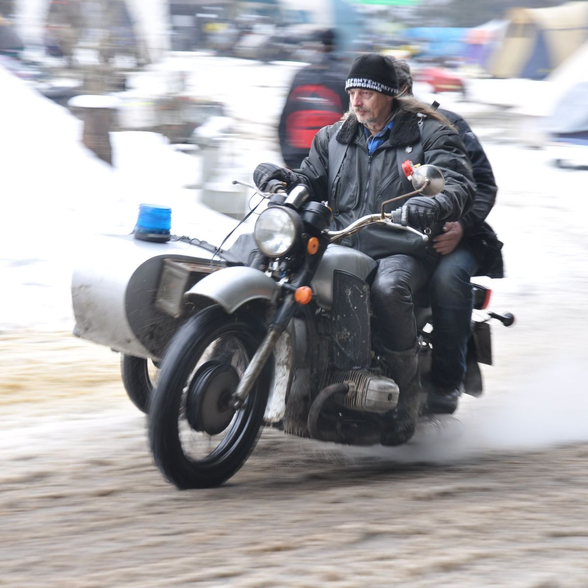 Elefantentreffen 2013: Motorradtreffen mitten im Winter - DER SPIEGEL