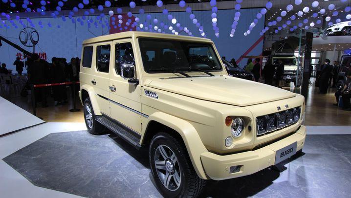 Die Neuheiten der Peking Motor Show: China will es lang-lang