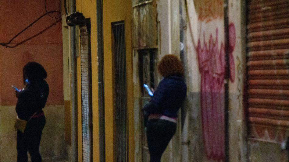 Sexarbeiterinnen in Palma de Mallorca
