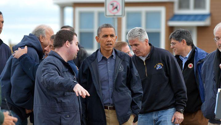 Obama im Katastrophengebiet: Kümmerer-in-Chief