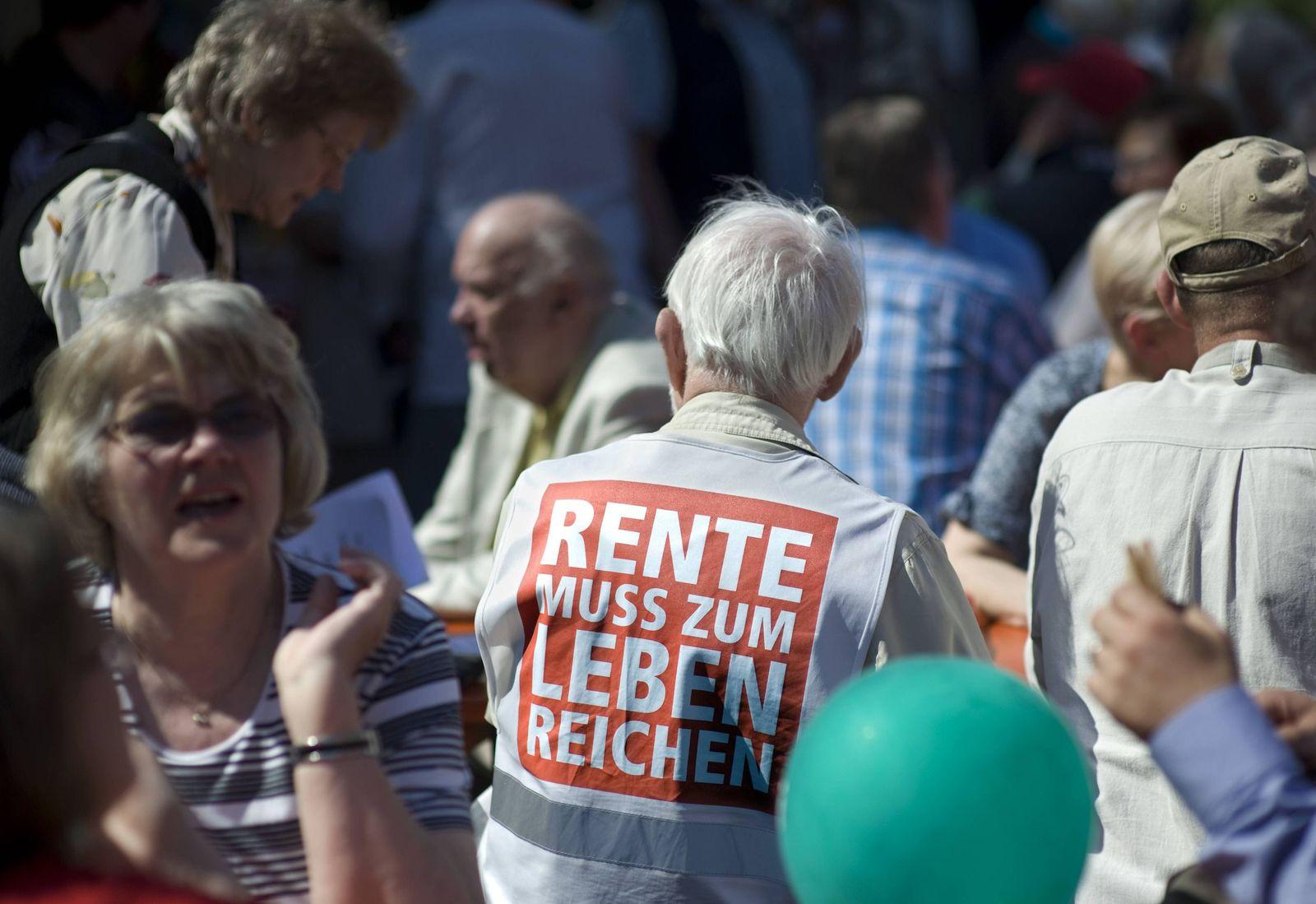 EINMALIGE VERWENDUNG Rente/ Demo