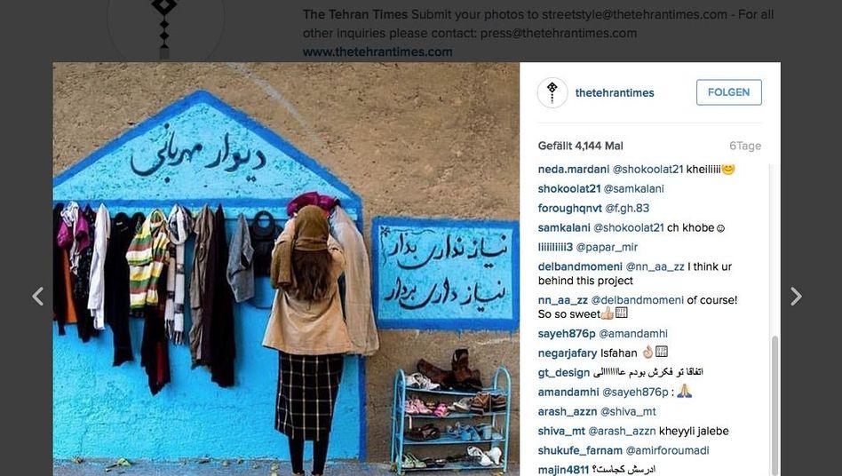 Statt Kleiderkammer: Iraner kreieren Tauschbörse für Hilfsbedürftige