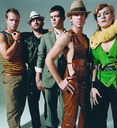 New Yorker Scissor Sisters: Softrock mit Synthesizer-Melodien