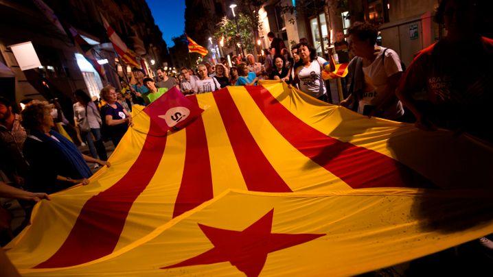 Unabhängigkeit: Marsch in Barcelona