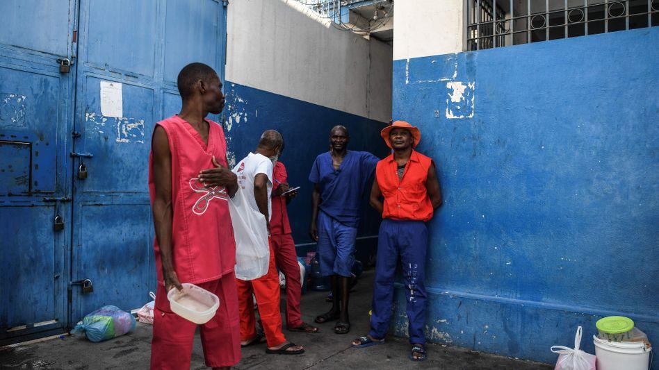 Gefängnis in Port-au-Prince: Zahl der Häftlinge in Haiti übersteigt die eigentlichen Kapazitäten um 400 Prozent