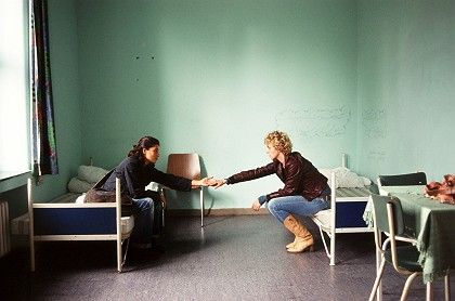 """""""The Edge of Heaven"""" deals with a lesbian love affair between a Turkish and a German woman."""