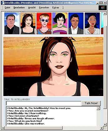 Intellibuddy:Ein Chatbot mit vielen Gesichtern