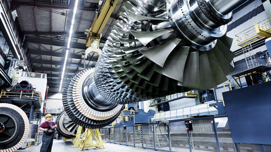 Gasturbinen von Siemens