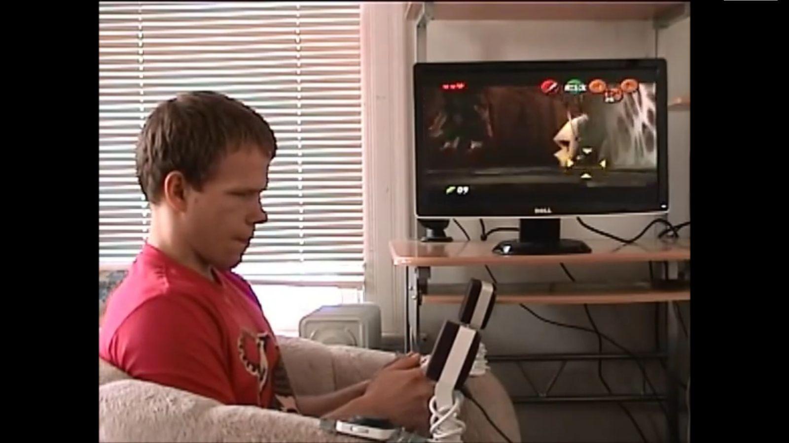 NUR ALS ZITAT Screenshot Blinder spielt Zelda/ YouTube