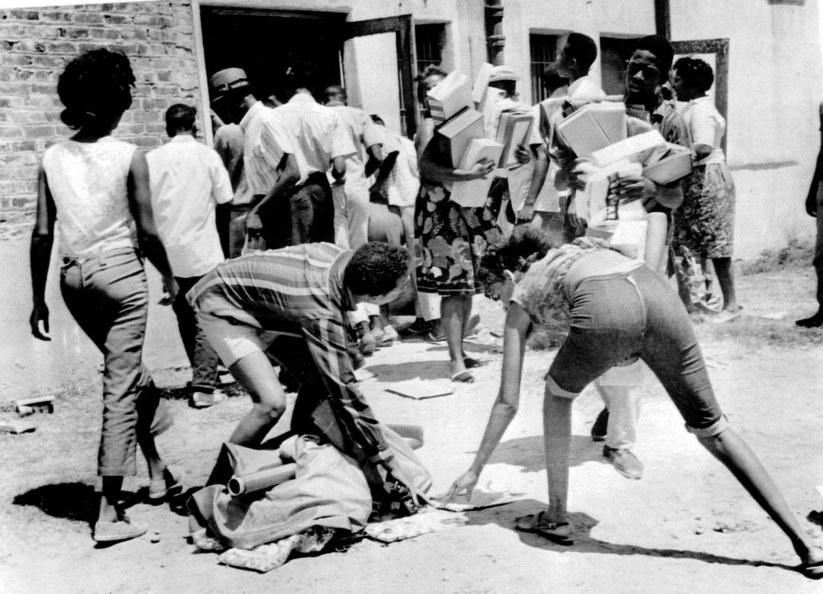 EINMALIGE VERWENDUNG Watts-Unruhen 1965