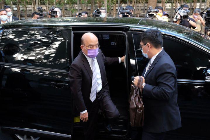 Taiwans Ministerpräsident Su Tseng-Chang