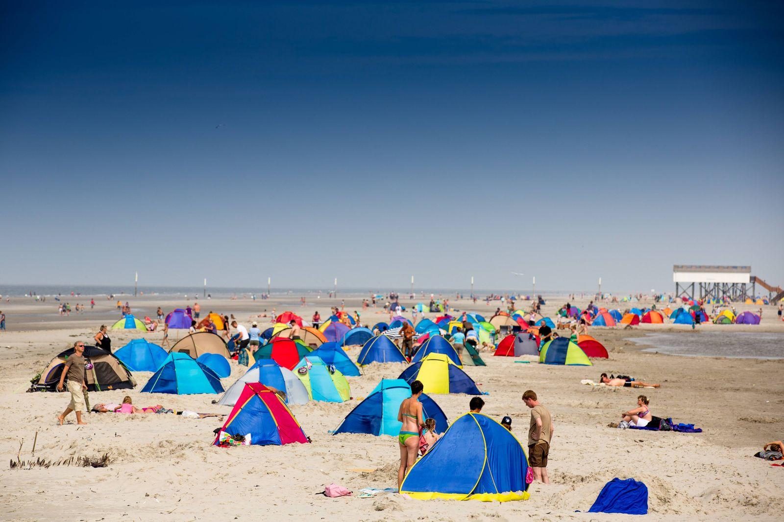 EINMALIGE VERWENDUNG Strand/ Nordsee/ Sommer