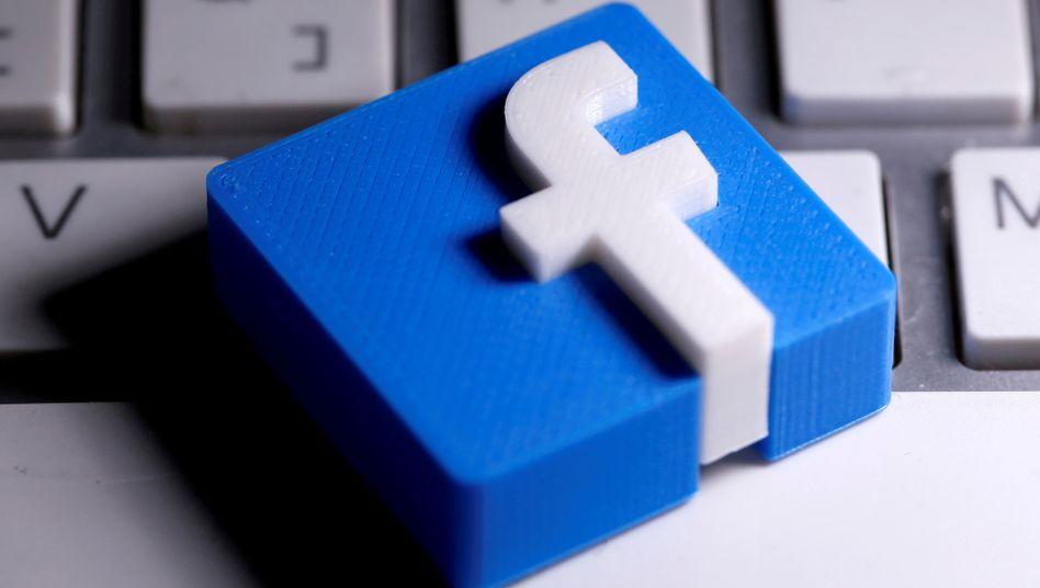 »Nicht gehackt«: Facebook-Logo