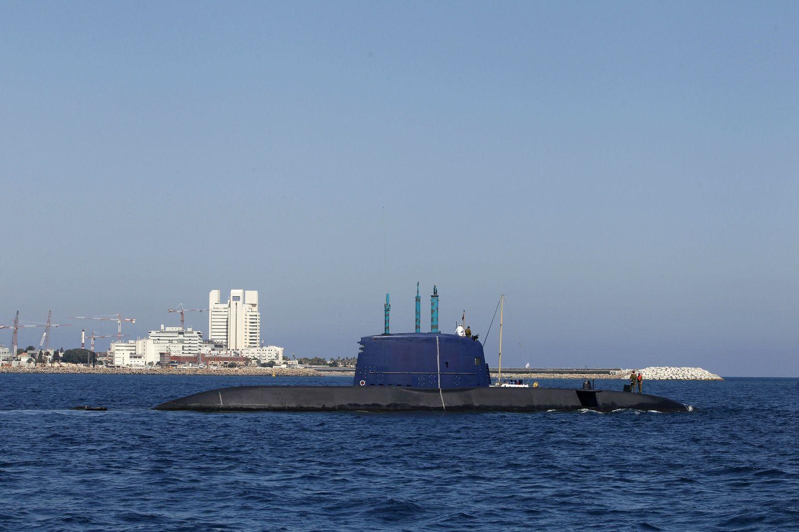 XXL Israel/ U-Boot/ Dolphin