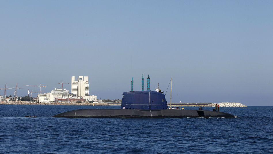Israelisches U-Boot der Dolphin-Klasse: Genehmigung aus Berlin