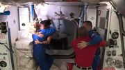 SpaceX-Kapsel dockt an Internationaler Raumstation an